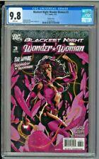 Blackest Night: Wonder Woman #3 - CGC 9.8 - Variant Cover