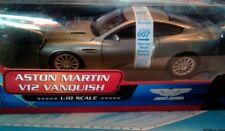 James Bond Aston Martin V12 Vanquish 1:18 The Beanstalk Group Silver Neu mit OVP