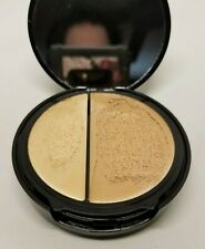 EVE PEARL HD 40:60 DUAL FOUNDATION HYDRATING SMOOTHING MEDIUM .51 OZ TEST RUBBED
