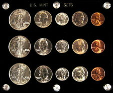 1942 P,D&S U.S. COINS GEM UNCIRCULATED SILVER MINT SET!  A GREAT INVESTMENT!