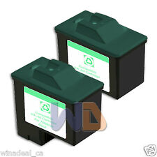 2 BLACK #16 Lexmark Ink Cartridge 16 for All-in-One X1150 X1270 X2250 X75