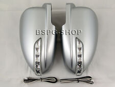 Accessories for Chevrolet Cruze Mirror Housings with LED Indicator Silver Tuning