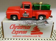 Eastwood Club #4 Christmas Express 1956 Ford Pickup 1994 Diecast Ertl Bank #B967