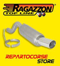 RAGAZZON TERMINALE SCARICO ROTONDO 90mm ALFA ROMEO MITO 1.4 79cv - DAL 09/2008
