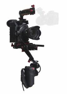 Zacuto C300 Mark II EVF Recoil Pro V2 Shoulder Mounted Rig Camera Support Kit