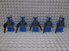 LEGO® Star Wars Figuren 5 x Mandalorian (SW296) aus Set 7914,9525 mit Blaster