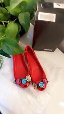 Melissa Ultra Girl  Red Womens Shoes Pumps Flats UK6