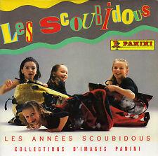 LES SCOUBIDOUS LES ANNEES SCOUBIDOUS / COLLECTIONS D'IMAGES PANINI FRENCH 45