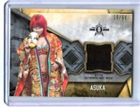 WWE Asuka 2017 Topps Women's Division Event Used NXT Mat Relic Card SN 15 of 50