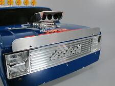Aluminum Front Hood Bug Deflector Plate Tamiya 1/10 Hilux Bruiser Clodbuster