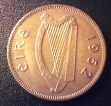 EF Ireland 1952 One Penny Irish 1d Hen+Chicks Eire Coin Pre Decimal