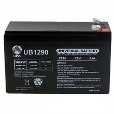 UPG 12V 9Ah Battery Replacement for Texas Hunter 400 lb. Fill Deer Feeder