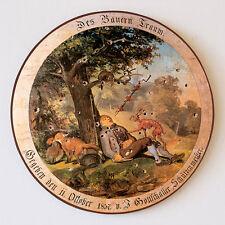Du paysans rêve renard lapin poule sommeil schießscheibe protéger disque 30cm 67