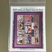 Halloween at Hawk Run Hollow cross stitch chart Carriage House Samplings Barrick