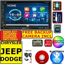 CHRYSLER JEEP DODGE BLUETOOTH USB CD/DVD AUX SD CAR RADIO STEREO