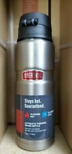 Thermos Stainless King 24 Vacuum Insulated Beverage Bottle Stainless SMALL DENT