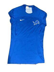 Detroit Lions Nike Onfield Apparel Short Sleeveless