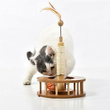 Pet Scratcher Toy Cat Sisal Scratching Interactive Board Playing Toy