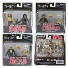 Minimates - The Walking Dead - Series 7 - Rick & Paul and Derek, Chris & Holly