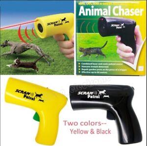 Scram Patrol Ultrasonic Dog Repeller Chaser Stop Barking Attack Animal Protectio