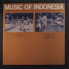 VARIOUS: Music Of Indonesia, Vol. 2 LP International