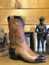 Tall! PAUL BOND BOOTS Size 9 1/2 D Men Custom Cowboy Boots