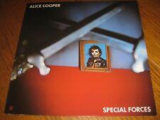 Alice Cooper-Special forces LP, Warner Bros. Germany 1981, promo insert,unplayed