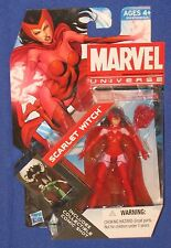 "Marvel Universe Scarlet Witch Action Figure 2011 Hasbro 4"" MOC 1/18th Avengers"