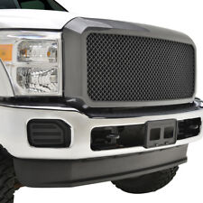 2011-2016 Ford Super Duty F250/F350 Mesh Grille ABS Shell Carbon Fiber Look