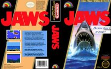 - JAWS NES Replacement Game Case Box + Cover Art Work Only