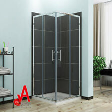 800mm Square Shower Screen Enclosure Sliding Door Corner Cubicle Quadrant
