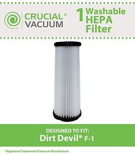 Replacement Dirt Devil F1 Filter Part # 3-JC0280-000 2-JC0280-000 3JC0280000