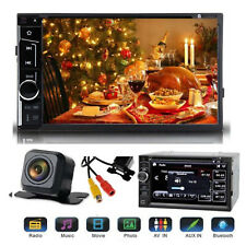 """For Sony Lens Bluetooth Car Stereo DVD CD Player 6.2""""Radio SD/USB In-Dash+Camera"""
