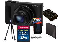 SONY DSC-HX90V Schwarz inkl. 32GB Komplettset !  CyberShot HX90V Camera TOP ****