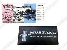 1964 1/2 Ford Mustang Owners Manual & Wallet