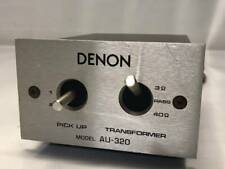 Denon Au-320 Step Up Transformer for Moving Coil Cartridges FROM JAPAN Free Ship