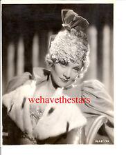 Vintage Marlene Dietrich GORGEOUS GLAMOUR '33 DBW Publicity Portrait