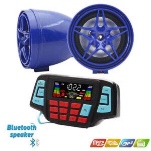 Motorrad MP3 System wasserdichtes BT MP3 Player Stereo Lautsprechersystem USB TF