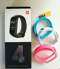 Xiaomi Mi Band 4 Global Languages + 3 Color Straps + Temp Glass  - USA Seller