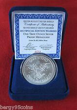 "SBSS 2013 SPECIAL EDITION WARBIRD-Half Proof Medallion-""Spreading Debt & Death"""