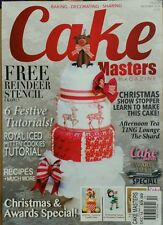Cake Masters UK Christmas & Awards Special 6 Tutorials Dec 2014 FREE SHIPPING