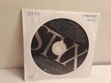 Styx - Greatest Hits (CD, 1995, A&M) Disc Only