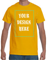 Custom T-Shirts with Your Photo | Text | Logo | DTG | Personalized T-shirts