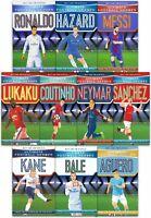 Ultimate Football Heroes Collection 10 Books Set Neymar, Ronaldo, Kane NEW