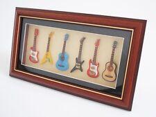 Miniatura Instrumento musical 6 Guitarras en la Marco de fotos - FG6