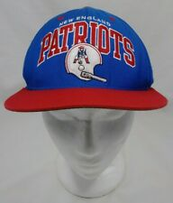 New England Patriots Mitchell & Ness NFL Vintage Collection Snapback Cap Hat GUC
