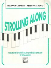 Strolling Along Short Character Piano Pieces 1993 Alcon Waltz Pharaoh's Dream