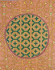 Buddhist Meditation Mandala Wall Hanging Embroidery Applique A Thousand Stitches