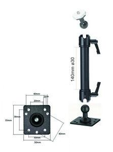Kamera Wand Decke Halterung Camcorder Halter Befestigung Fotostativ Metall Alu I