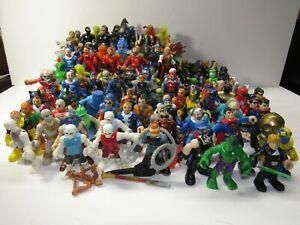 Huge Lot of 123 Imaginext Figures - Batman Joker Superman and More